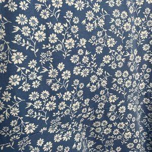 Forever 21 Dresses - Forever 21+ Baby Blue Floral Short Sleeve Dress